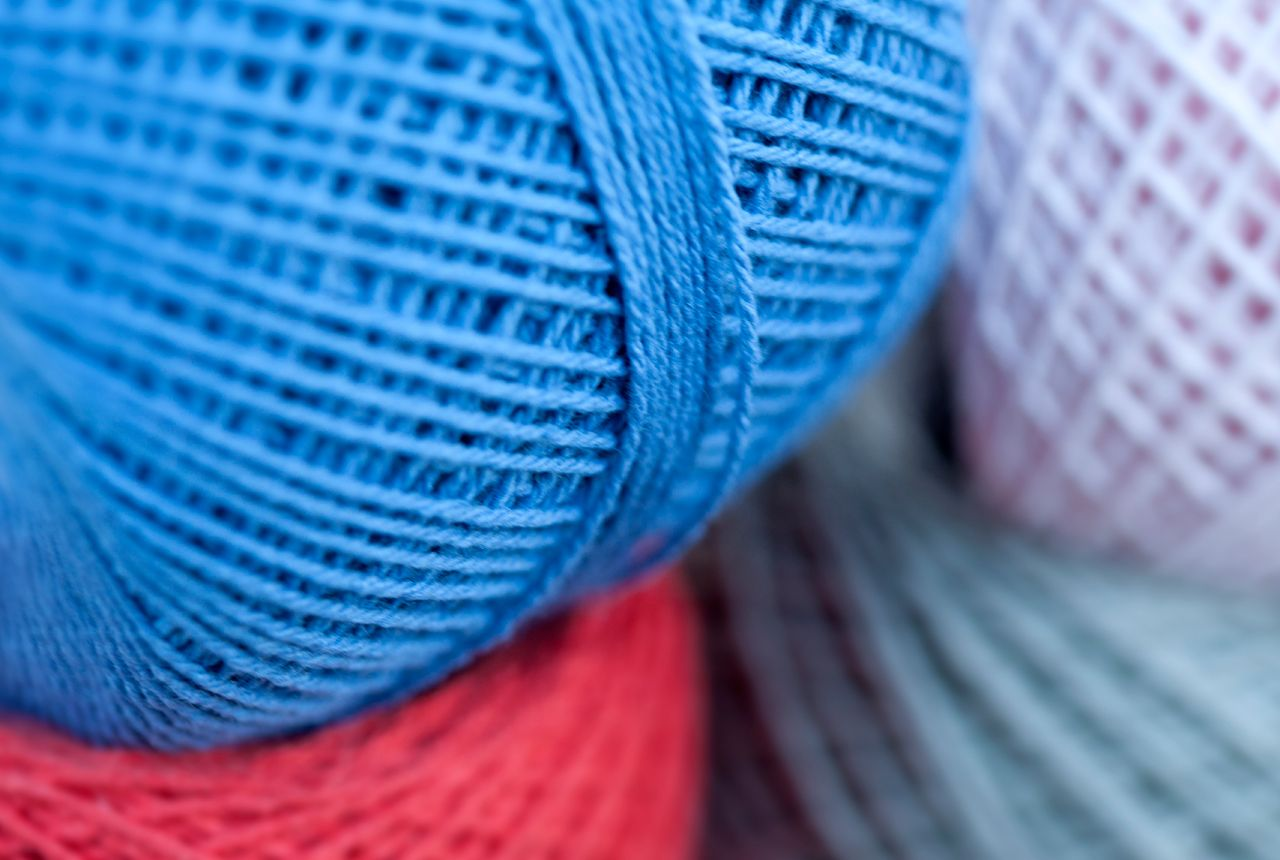 Photo of Coloured Cotton Yarns