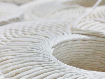 White Cotton Yarns