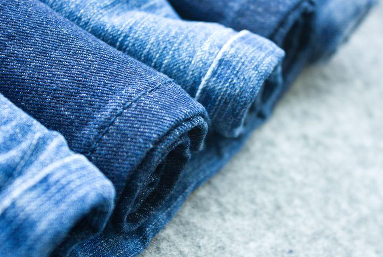 Cotton blue Jeans