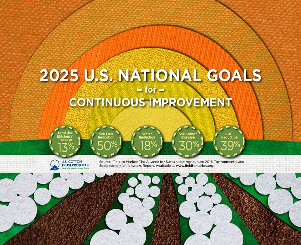 infographic of 2025 US National Goals for continuous improvement